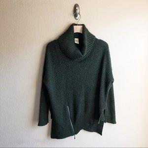 Faded Glory Green Turtleneck Sweater
